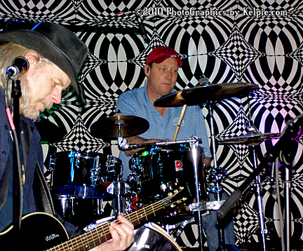 John Michael, and Mike on drums